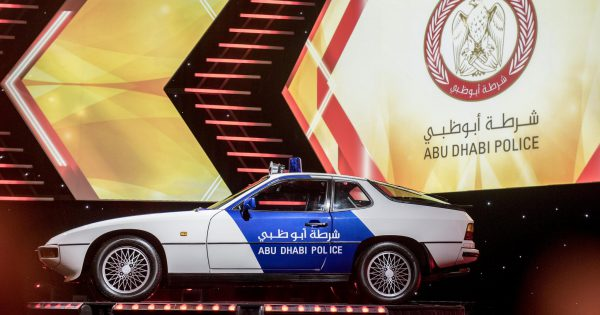 Abu Dhabi Police New Car 2017