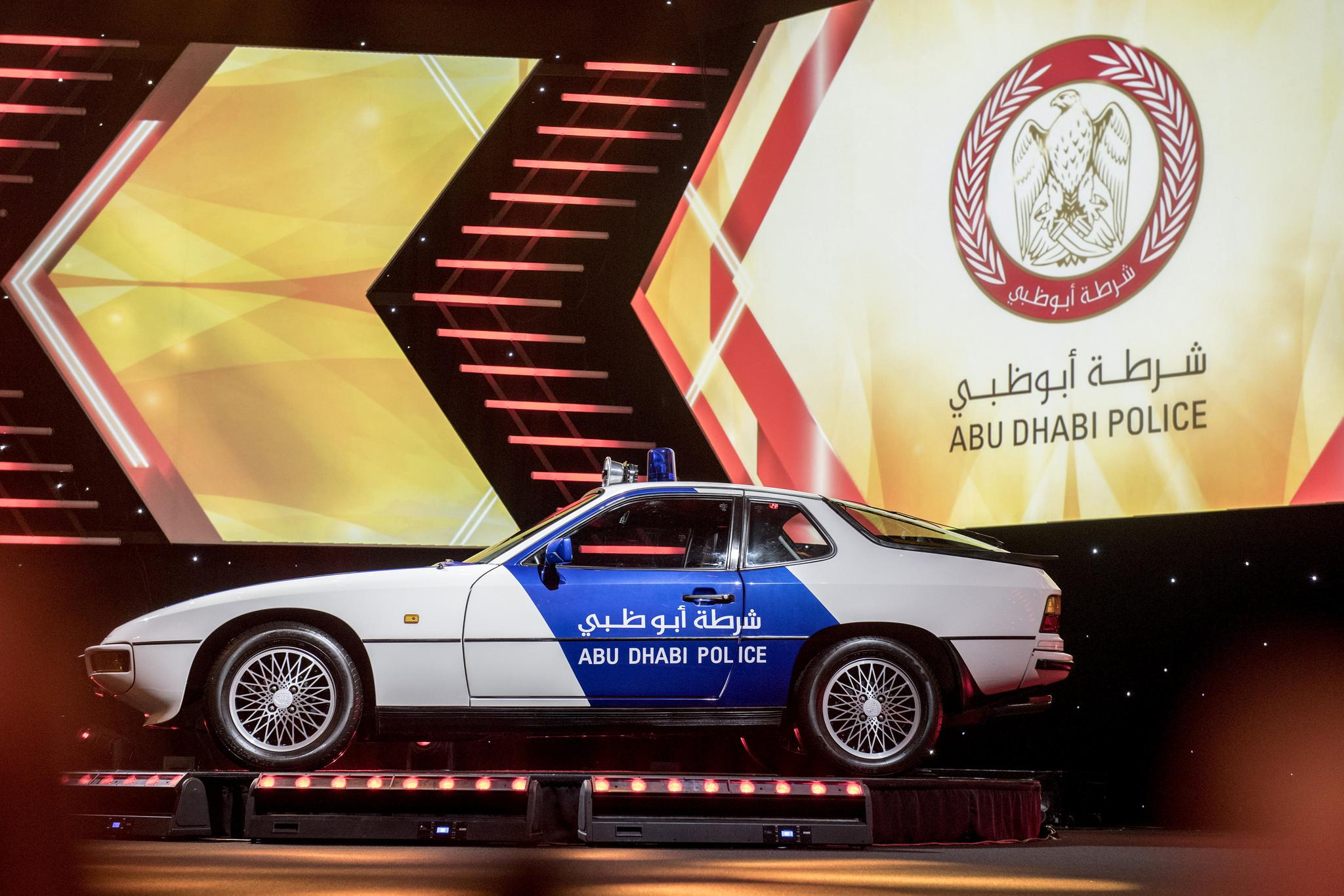 Abu Dhabi Police Vehicles Get New Colours Abu Dhabi Uae