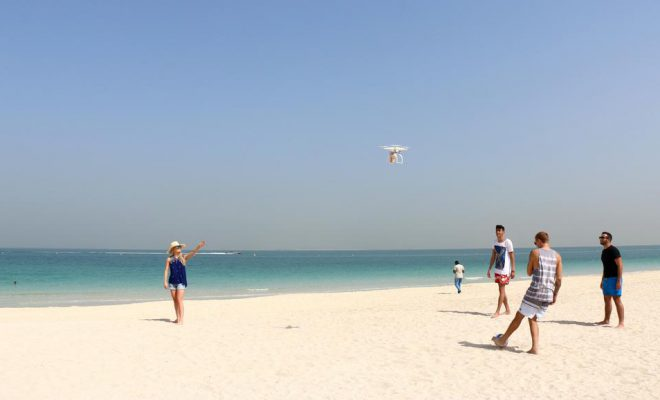 Costa Coffee Drone Delivery Dubai