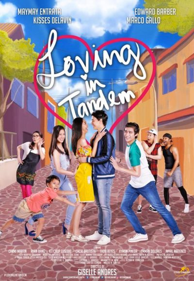 Loving in Tandem Tagalog movie 2017 released in Abu Dhabi Cinemas