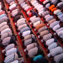 Praying at Mosque
