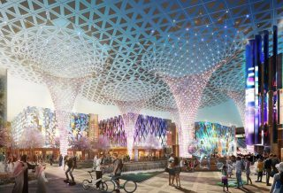 Inside Expo 2020 Site