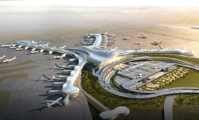 Abu Dhabi Airports' new Midfield Terminal