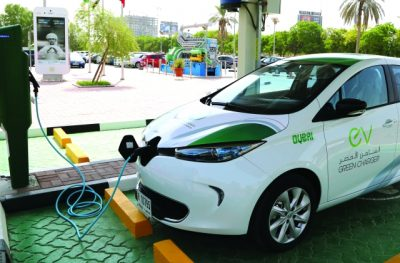 Electric Vehicle Charging in Dubai