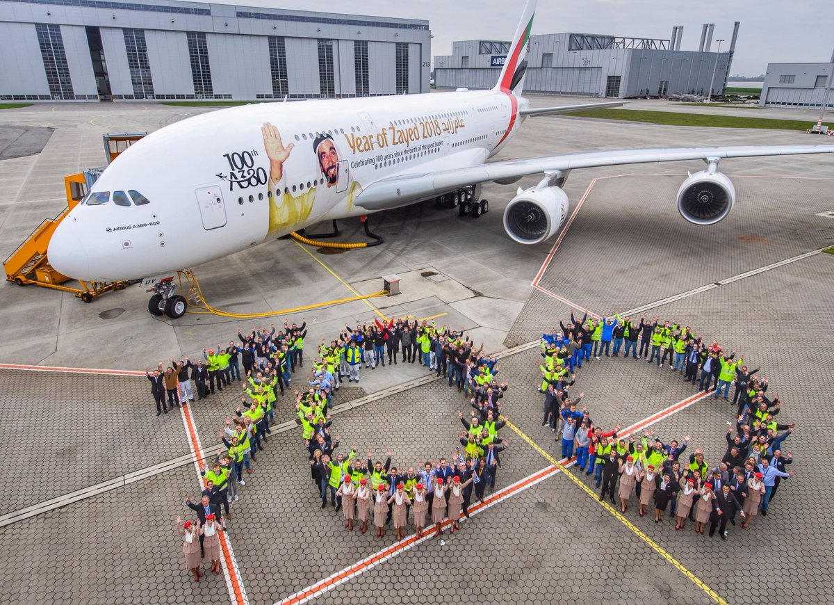 Emirates Airlines Marks Milestone With 100th A380