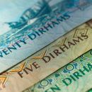 dirhams-notes-close-up