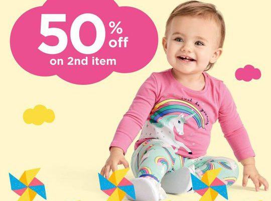 Carter's (Up to 50% Off) on 2nd Item, Limited Time Period
