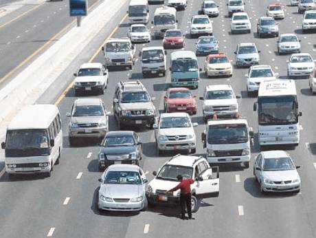 Silly mistakes that UAE motorists do