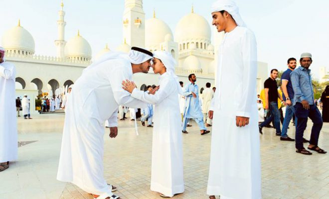 When would EID occur in UAE most likely?