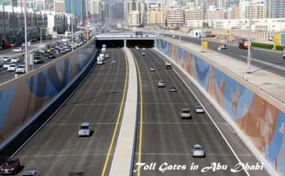 Toll roads coming up in Abu Dhabi