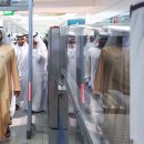 H.H. Sheikh Mohammed made a surprise visit to Dubai airport