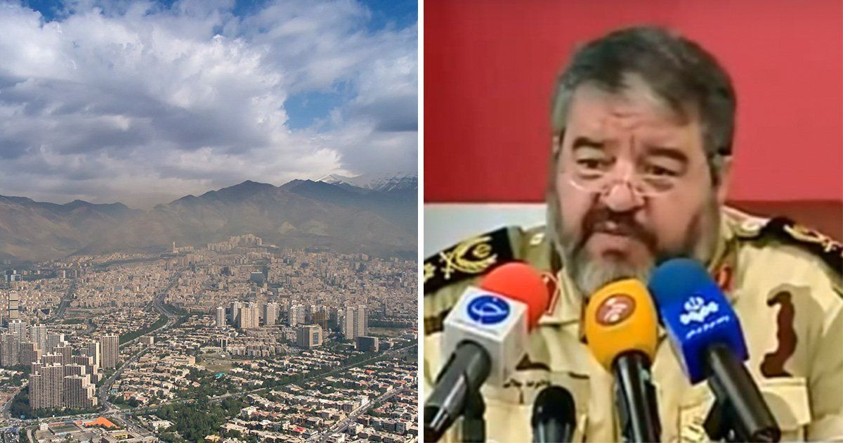 Iran accuses Israel of stealing its clouds