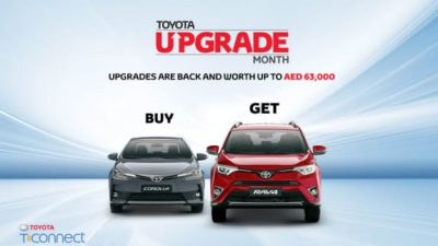 Toyota Upgrade Offer