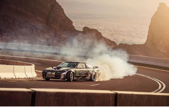 Video: Daredevils go drifting on UAE's Jebel Hafeet