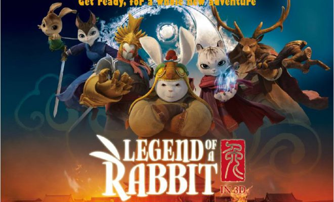 Legend Of A Rabbit - The Martial Of Fire - English Movie in Abu Dhabi