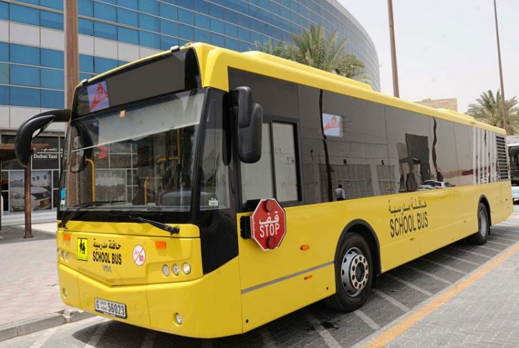 Dh1,000 fine for driving past school bus stop sign in UAE
