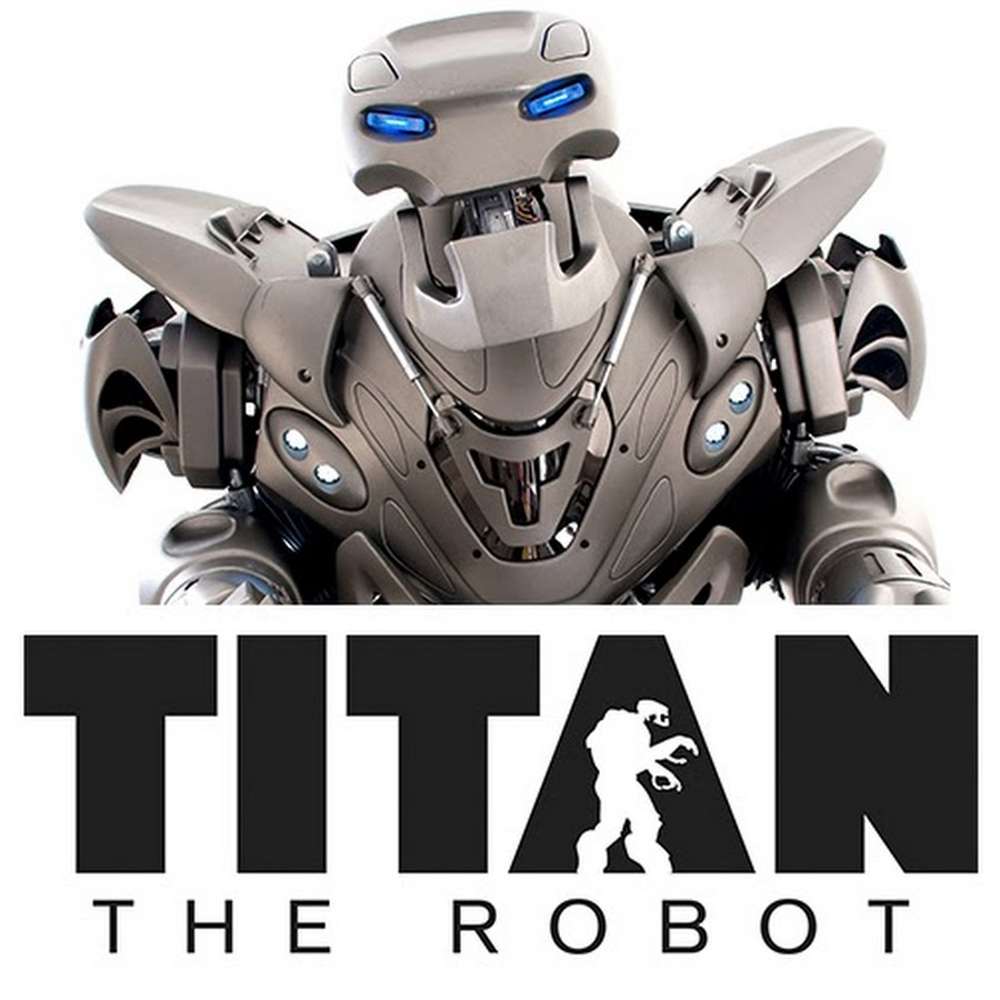 Titan, the robot greeter in Abu Dhabi