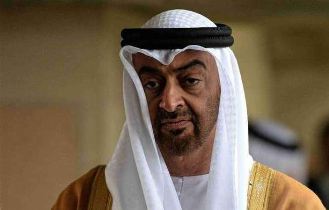 Mohammad Bin Zayed offers condolences to President's Representative on the death of his wife