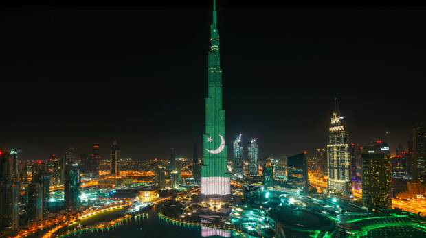 UAE Pakistani expats celebrate Resolution Day