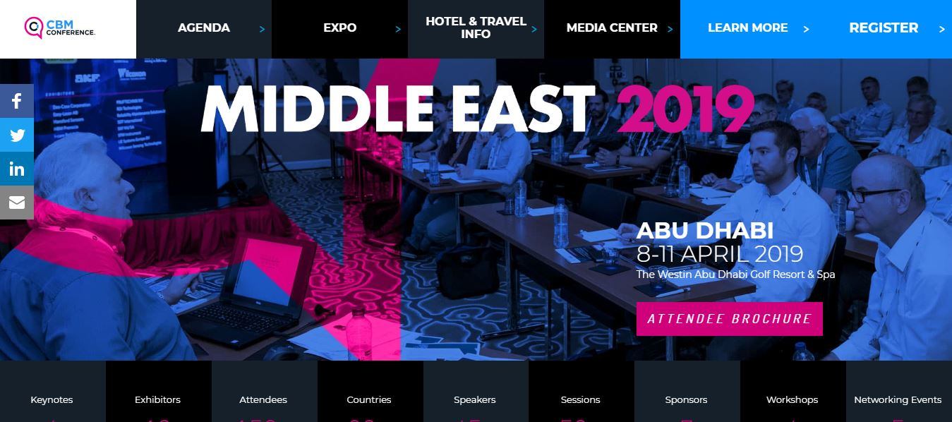 CBM Conference Middle East 2019