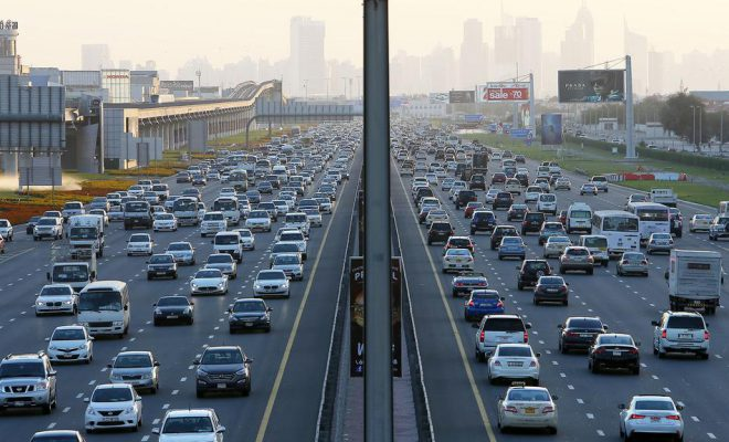 Dh97 million project to reduce traffic on key UAE road
