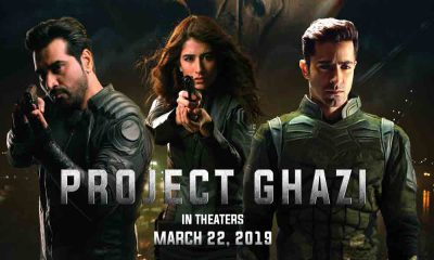 Project Ghazi (2019) Urdu movie in Abu Dhabi