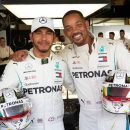 Will Smith races against his son on UAE's F1 track