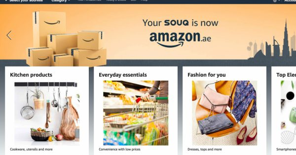 Amazon Officially Launched in UAE: Souq.com is now Amazon.ae