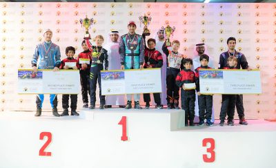 Karting competition concludes at Al Forsan Ramadan Championship 2019