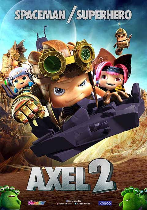Axel 2: Adventures of the Spacekids