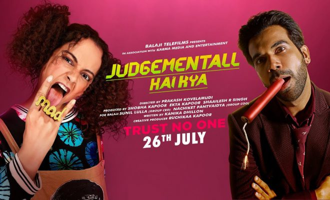 Judgementall Hai Kya 2019 Hindi Movie in Abu Dhabi