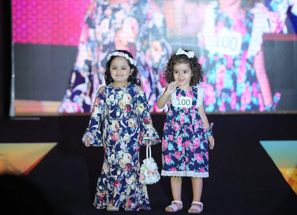 84 shortlisted child models out of 563 hopefuls take part in a kids fashion show extravaganza this weekend at Dalma Mall
