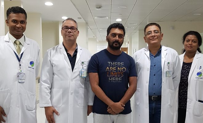 Zulekha Hospital Experts Save UAE Resident from Severe Allergy, Preventing Loss of Vision, Sepsis and Organ Failure