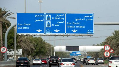10 things you did not know about Abu Dhabi roads