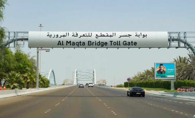 Abu Dhabi cars registered after Oct 15 to pay Dh100 for toll
