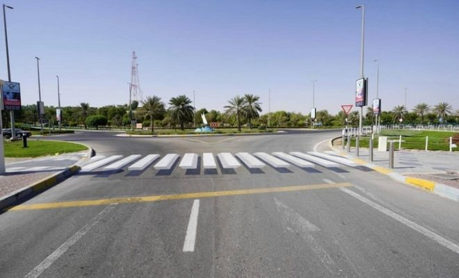 Have you seen this 3D zebra crossing in UAE