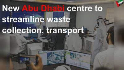 New Abu Dhabi centre to streamline waste collection, transport