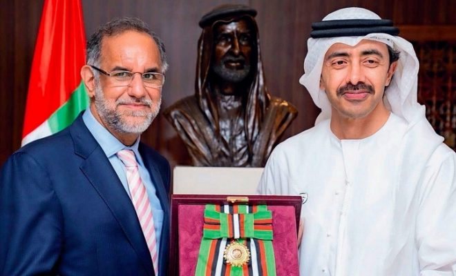 Sheikh Khalifa confers Zayed II Order on outgoing Indian envoy Navdeep Singh Suri