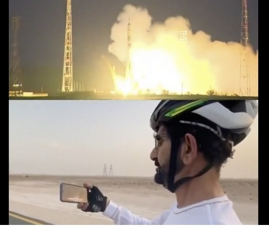 Hazzaa AlMansoori became the first astronaut to go into space