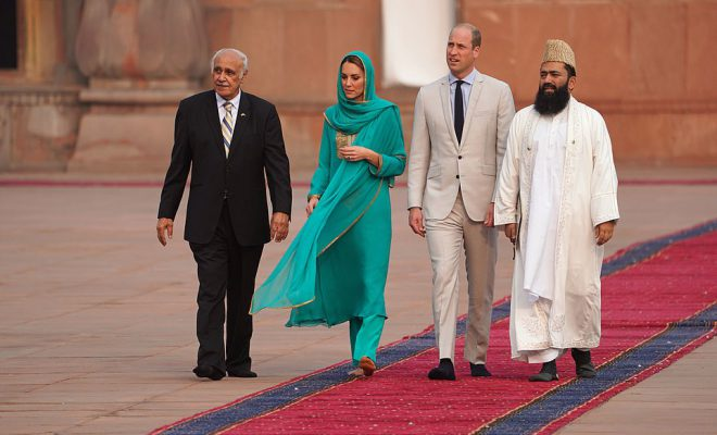 Prince William, Kate flight hits turbulence in Pakistan