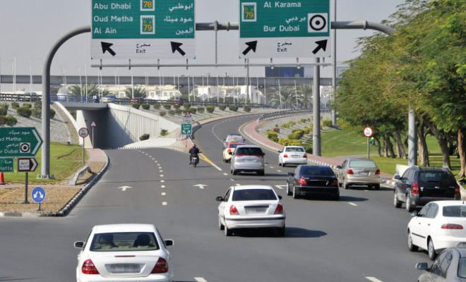Dh400 fine for not using indicator on UAE roads