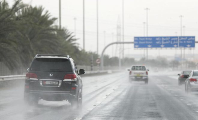High waves to hit UAE, rain forecast for parts of the country