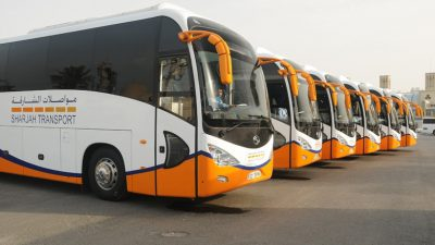 Sharjah rolls out 110 new buses worth Dh70 million