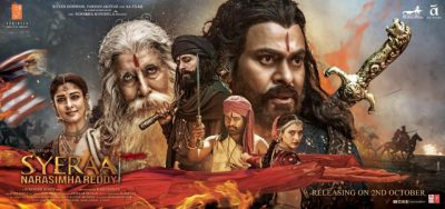 Sye Raa Narasimha Reddy 2019 Hindi Movie in Abu Dhabi