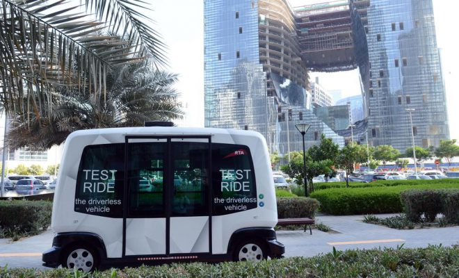 Driverless car tested on Dubai-Abu Dhabi road trip