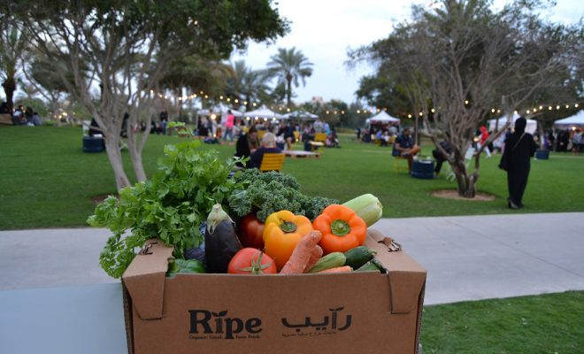 The Ripe Market in Umm Al Emarat Park