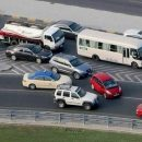 Accident clogs part of Sheikh Zayed Road on Tuesday morning